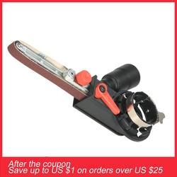 """Мини DIY шлифовальный ремень адаптер ленточный шлифовальный мм станок для 115 мм 125 """"мм и 4,5 мм 5"""" электрическая угловая шлифовальная машина"""
