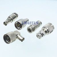 Kit Adapter 5pcs Set N To BNC Type Male Female RF Connector Test Converter