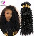 4 Связки Индийский Глубоко Вьющиеся Волосы Девственные Класс 7А Индийский Девы волосы Глубоко Вьющиеся 100% Человеческих Волос Weave Индийский Вьющиеся Волосы Девственницы