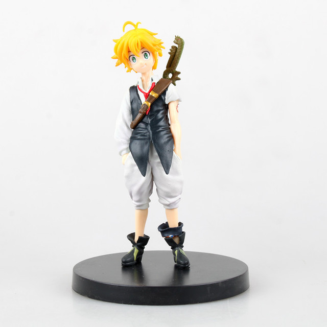 New anime figure toy The Seven Deadly Sins nanatsu no taizai Dragon's Sin of Wrath Meliodas 14CM gift for children free shipping