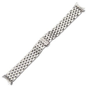 Image 5 - Curved End Stainless Steel Watch Band for Seiko 5 SKX007 Premier Superior Presage Wrist Strap Silver Rose Gold 18mm 20mm 22mm