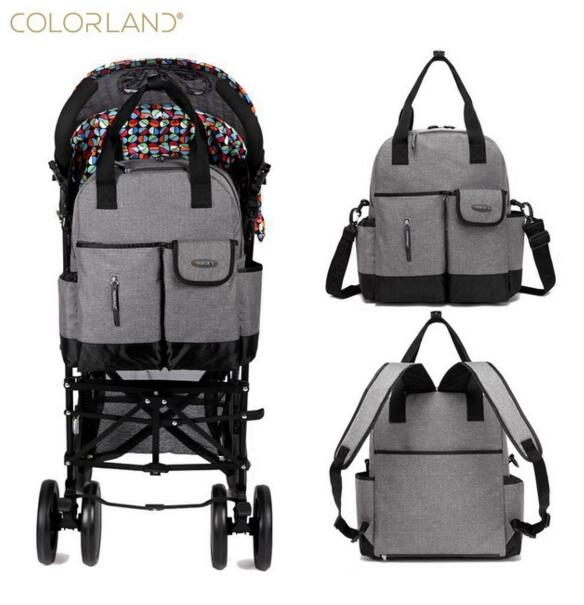Colorland Baby Nappy Diaper Mummy Maternity Travel Bag Organizer Backpack Baby Stroller bag mom handbag mother messenger bags new multifunctional diaper bags mother bag high quality maternity mummy nappy bags flower style mom handbag baby stroller bag