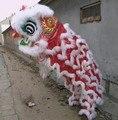Traje de dança do leão chinês para 2 homens animais trajes de dança roupas trajes nacionais de dança trajes de dança festival de ano novo