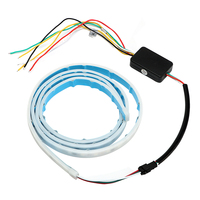 Brake Lamp Multi Function Car Styling Signal Lamp Rear Trunk Tail Light Car RGB LED Strip