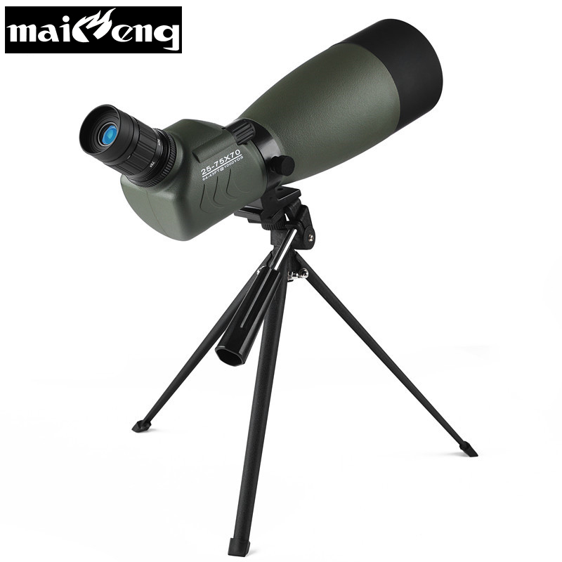 Powerful High Zoom Monocular Professional Astronomic Telescope Nitrogen Waterproof Spotting Scopes with Tripod for Bird-watching celestron long vision single barrel telescope bird watching mirror high definition double speed times nitrogen filled waterpro