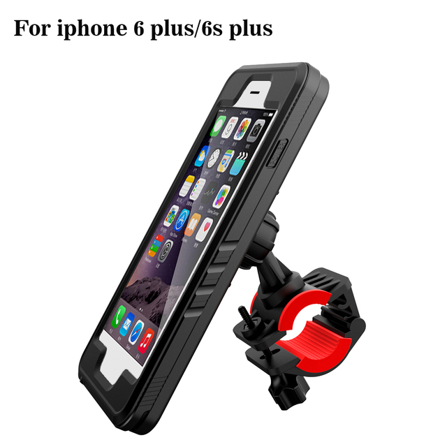 buy popular f7b92 f8c6a US $30.71 |Bicycle GPS stand base for iPhone 6s Waterproof Case bag Mount  Handlebar Bike phone Holder Motorcycle Cradle moto support-in Mobile Phone  ...