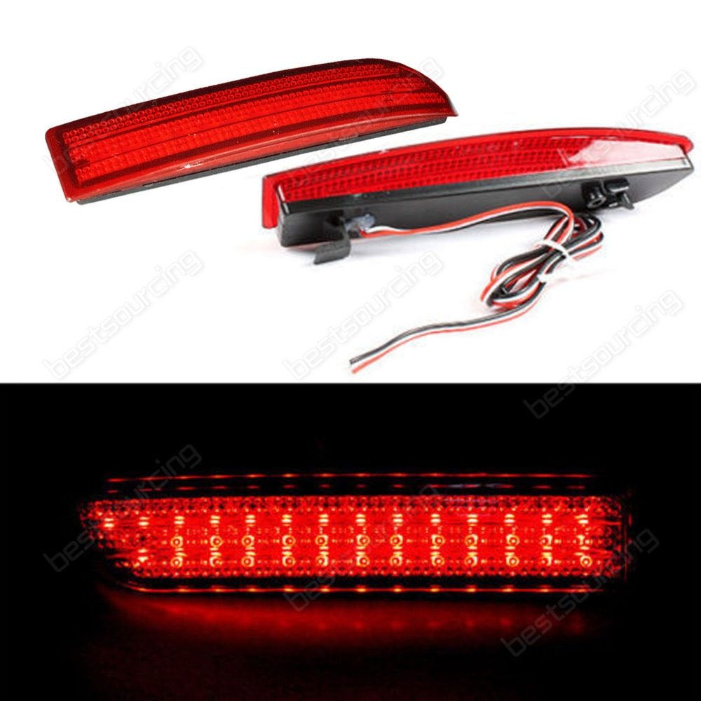 Красный бампер отражатель светодиодный хвост тормоз свет DRL Авенсис T270 Альфард Эстима 2.4 предлежание предлежание Авенсис седан (CA166)