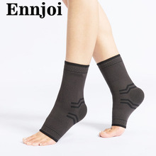 one pair Nylon Safety Ankle Support Gym Running Protection Accessory Elastic Ankle Brace Band Guard Sport Foot Bandage