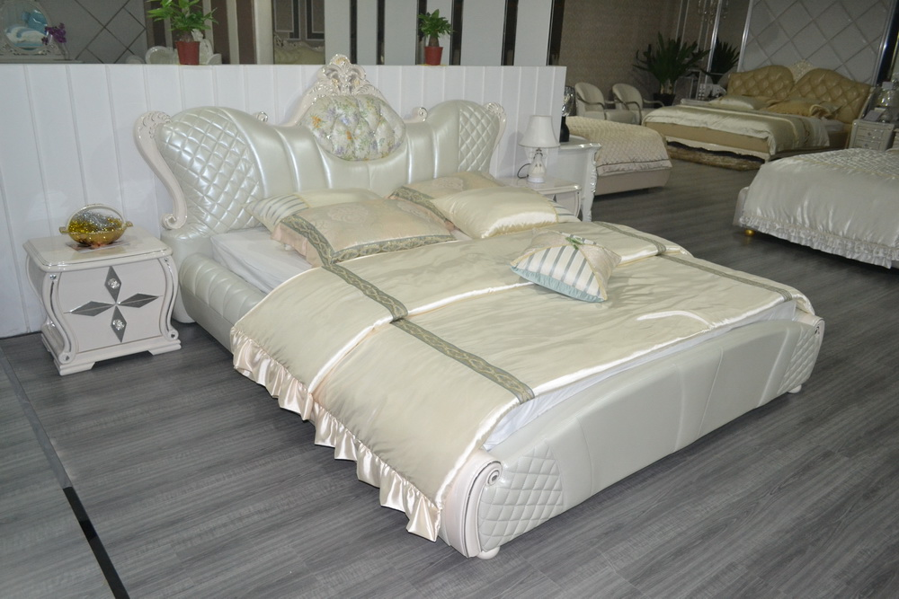 Online Buy Wholesale leather bedroom furniture from China