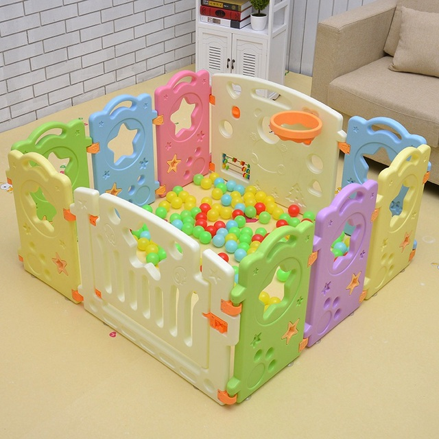 Hot Baby Playpen Safety Fence Fencing for Children Kids Playpen ...