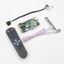 Frete grátis Kit Placa Controladora VGA De Áudio HDMI AV USB para 1600×900 17.3 Polegada B173RW01 WLED LCD LVDS placa controladora AV HDMI