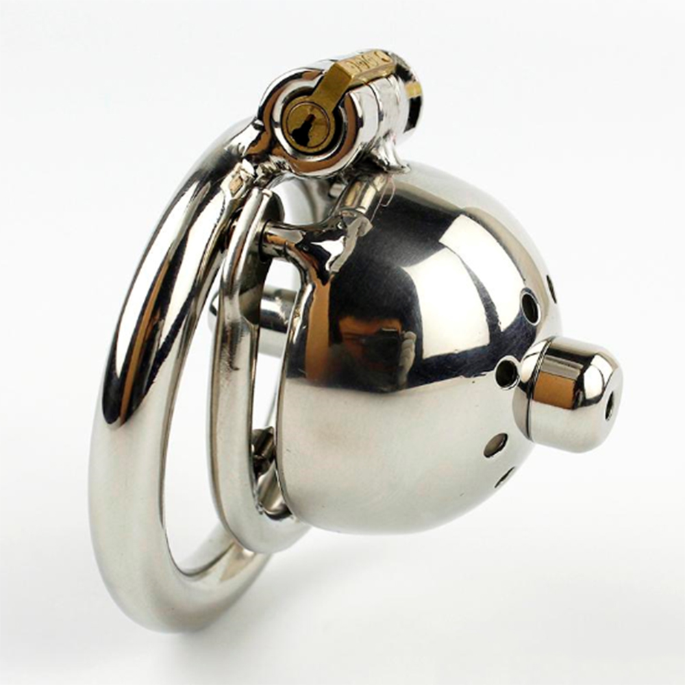 NEW Super Small Male Chastity Cage With Removable Urethral Sounds Spiked Ring Stainless Steel Chastity Device For Men Cock Belt