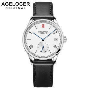 Watch Bracelet 36mm Automatic Ladies Swiss-Brand Agelocer Women Original Switzerland