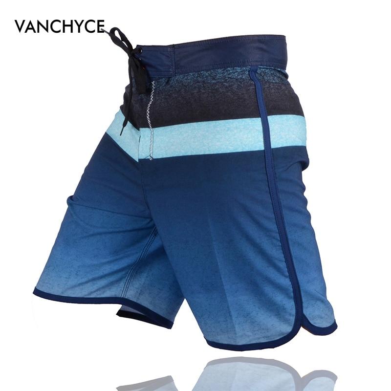 VANCHYCE Summer   Shorts   Men   Board     Shorts   Brand Swimwear Men Beach   Shorts   Men Quick Dry Silver Mens Boardshorts Bermuda   Short