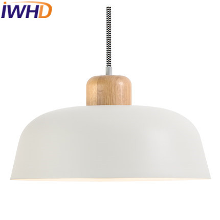 IWHD Wood LED Pendant Lamp Bedroom Living Room Kitchen Iron Pendant Lights Fashion Indoor Lighting Fixtures Hanglamp Lamparas IWHD Wood LED Pendant Lamp Bedroom Living Room Kitchen Iron Pendant Lights Fashion Indoor Lighting Fixtures Hanglamp Lamparas