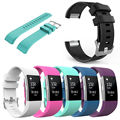 High quality Silicone Replacement Sport Band for Fitbit Charge 2 Smart Wristband Bracelet Wearable Belt Strap bands