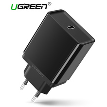 Ugreen USB C Charger 30W Fast Mobile Phone Charger Travel Type C Charger for Samsung GalaxyS8 Charger For Apple Macbook 12 inch
