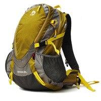 Dschungel König camping außerhalb bewegung wasserdichte nylon beruf bergsteigen rucksack tasche klettern camping rucksack abdeckung 30L-in Klettern Taschen aus Sport und Unterhaltung bei