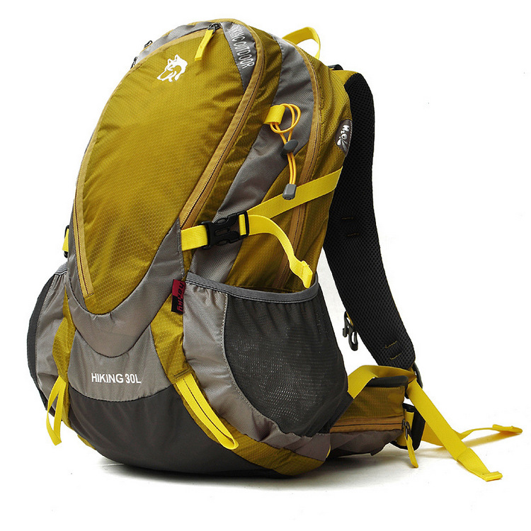 Jungle roi camping mouvement extérieur étanche nylon profession alpinisme sac à dos sac escalade camping sac à dos couverture 30L