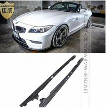 цена на Top Quality E89 carbon fiber side skirts bodykit for BMW / E89 side surrounded for m-tech bumper