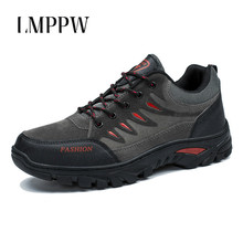 High Quality Outdoor Leisure Travel Shoes Men Hiking Shoes Waterproof Non-slip Sneakers Men Trainers Zapatillas Zapatos Hombre цена