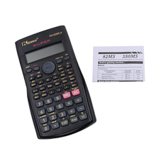 2017 New Handheld Multi-function 2 Line Display Scientific Calculator 82MS-A Portable Scientific Calculator For Class For Office
