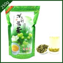 250g NEW Top Quality Chiese Organic Jasmine Tea Flower Tea China Green Tea Health Herbal Removing Tone Slimming Diet Secret Gift