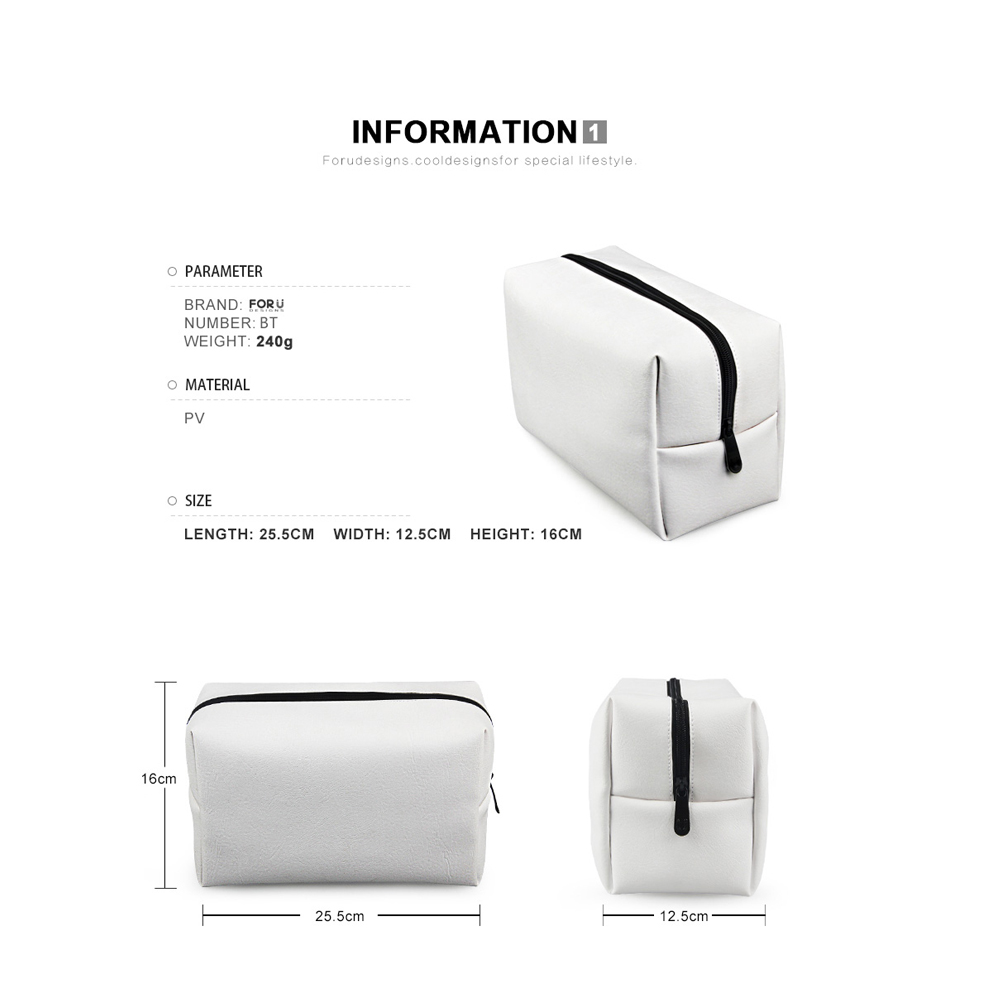 FORUDESIGNS Face shit Cosmatic bag WIth Lash Travel Neceser Trousse de Maquillage For Girl Mak up Organizer Toiletry Pencil Case