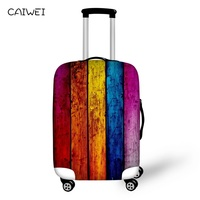 Colorful Luggage Covers Geometric designs Waterproof Suitcase Covers 18 30 inch Luggage Protectors for Traveling Accessories