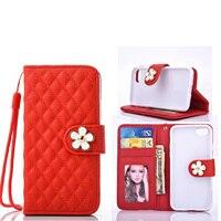Luxe voor coque apple iPhone 7 i7 case cover PU leer lamsvacht vrouwen tas kaarthouder voor fundas iPhone 7 plus 5.5