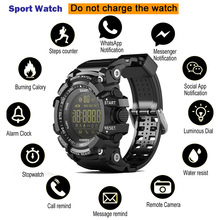 Bluetooth SmartWatch Remote Control Sport EX16 Smart Watch IP6Waterproof Men Wristwatch SMS Call Remind Long standby Reloj EX18