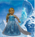 "Free shipping!!! hot 2014 new style Popular 18 inches""  girl doll clothes;AMERICAN PRINCESS doll dress"