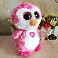 Kids Toys Plush Pink Penguins Dolls Ty Stuffed Animal Toy Gifts For Girls Ornaments High Quality