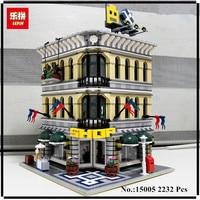 IN STOCK LEPIN 15005 2182pcs City Creator Grand Emporium Model Building Blocks Kits Brick Toy Compatible