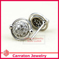 Carraton ESYS6017 Lovely 925 Sterling Silver CZ Stud Earrings for Girls