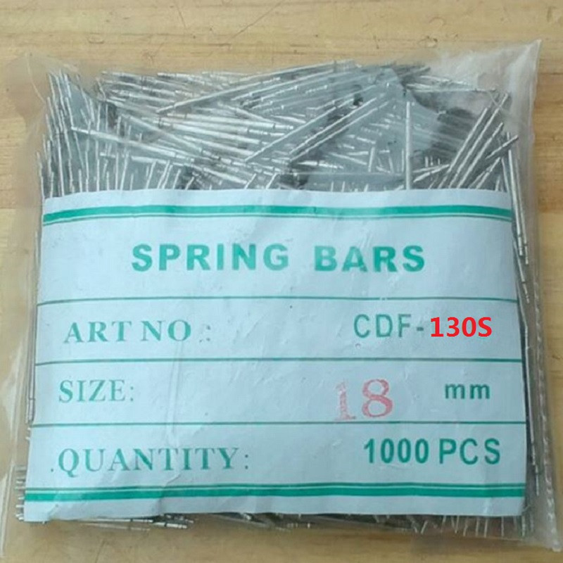 Hot Sale 1000 Pcs Set Stainless Steel Watch Band Spring Bars Set Strap Link Pins Tool