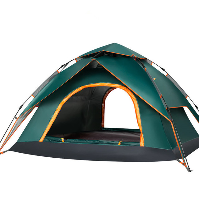 3 - 4 Person Seal Windbreaker Large C&ing Hiking Tents Automatic Tent Climbing Waterproof Trval Gear Tents High Quality  sc 1 st  AliExpress.com & 3 4 Person Seal Windbreaker Large Camping Hiking Tents Automatic ...
