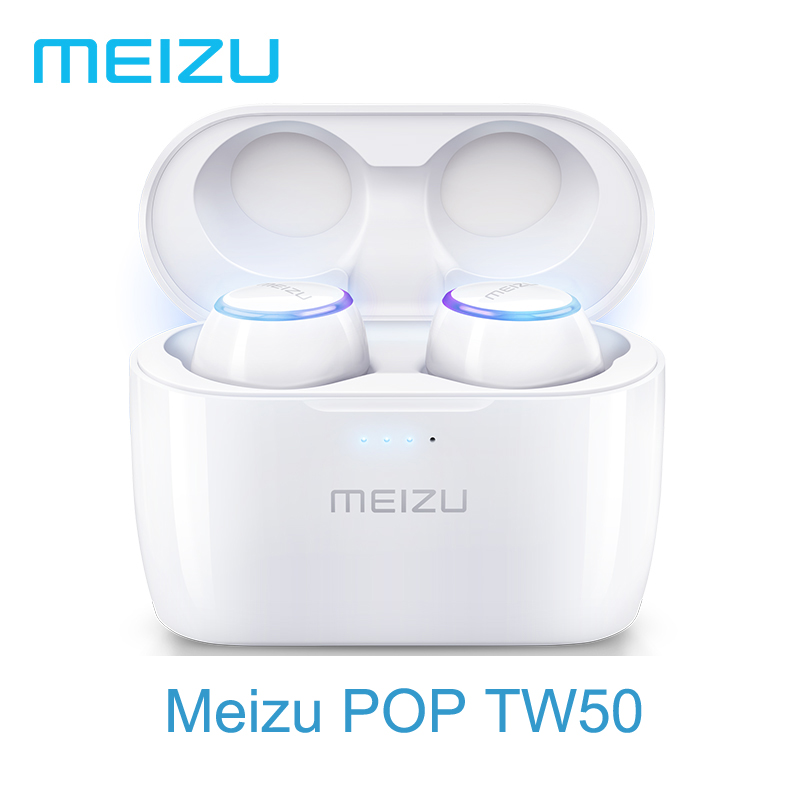 Original Meizu POP TW50 Dual Wireless Bluetooth Earphone Sports In Ear Earbuds Waterproof Wireless Earphones