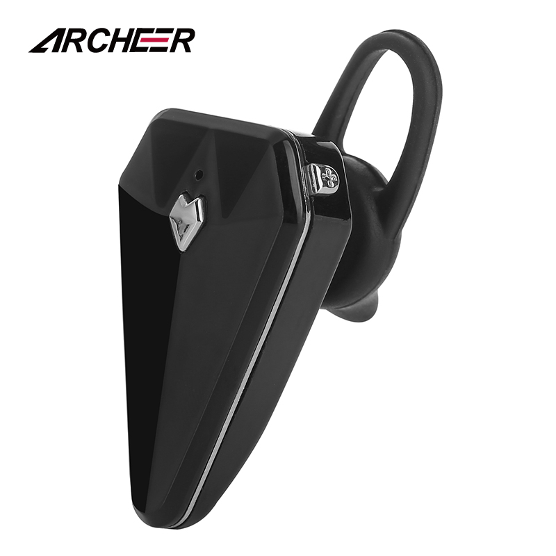 ARCHEER Mini Wireless Bluetooth Earphones Noise Cancelling Hands-free Earbuds In Car Stereo Headset With Mic For iPhone Android