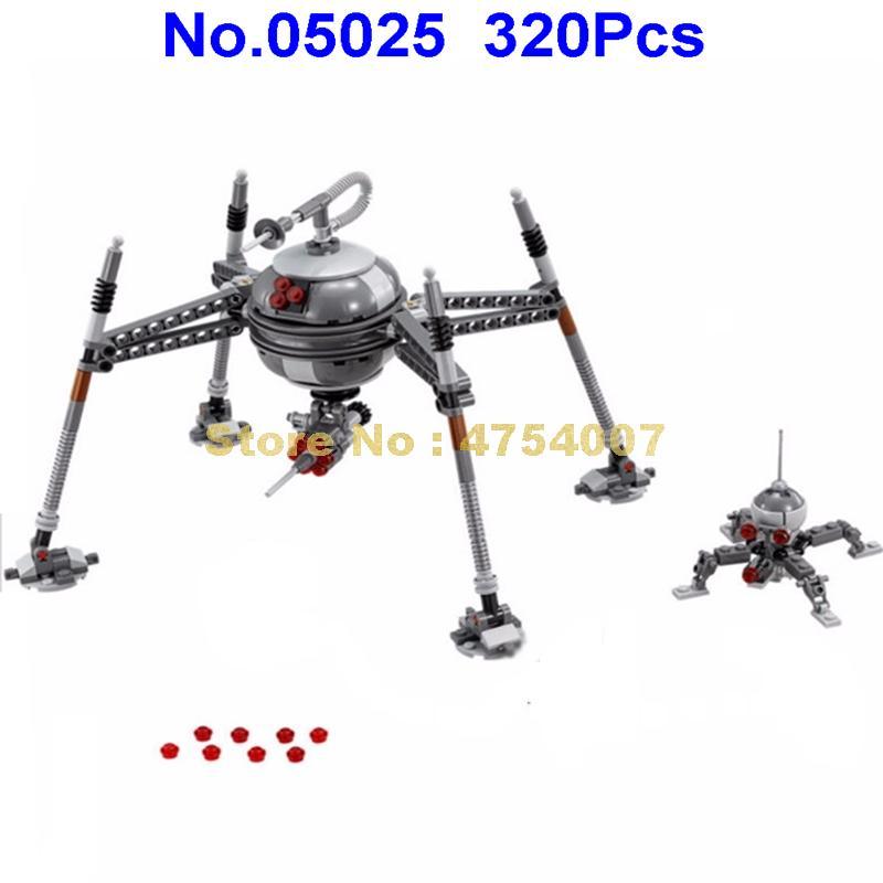 Star Wars Homing Spider Droid 75142 320 pcs Building Blocks Bricks Free Shipping