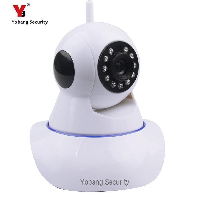 YobangSecurity Wifi Wireless IP Camera IR-Cut Night Vision Audio Recording Network CCTV Baby Monitor Wifi Home Security Cam xm hd wireless ip camera ir cut night vision audio recording network cctv pan tilt p2p baby monitor wifi home security cam