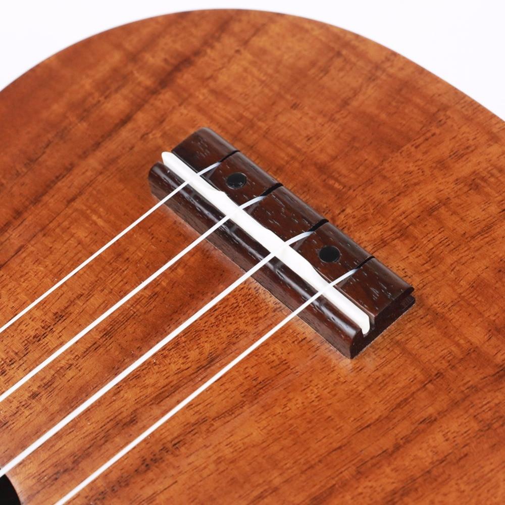 Strong Wind 21 Inch Ukulele Concert Acoustic Mini Guitar Rosewood Fretboard 4 Nylon Strings Hawaiian Guitarra Ukelele for Begin