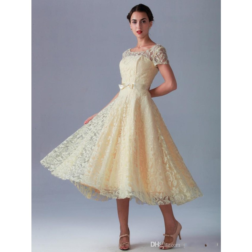 Calf Length Bridesmaid Dresses Wedding Gallery