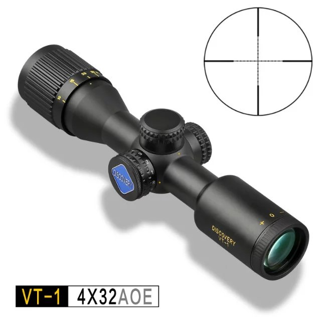 Discovery VT-1 4X32 AOE AOE  Metal wire point line differentiation Shock proof,water proof,Fog proof  Riflescope  рулетка x line metal 50