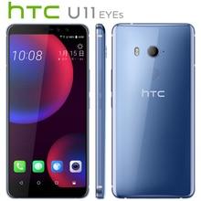 Новый оригинальный htc U11 глаза 4G LTE мобильный телефон 4 GB 64 GB Snapdragon652 Octa Core 6,0 дюйма Android 7,0 IP67 Водонепроницаемый NFC Callphone