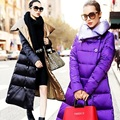 long thicken outerwear female duck down coat coate loose winter jacket women parkas extra brand luxurious 2016 new arrival