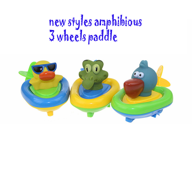 Cielarko Inspire Imagination Lovely Animal Play Water Pull String Penguin Boats Toy