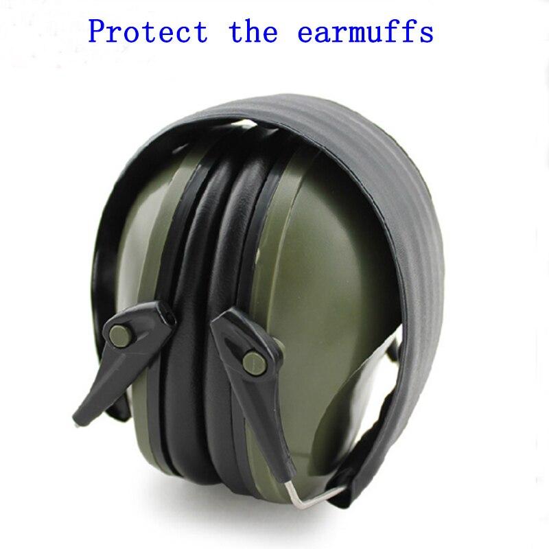 bilder für Professionelle schallgedämmte foldaway schutz ohrstöpsel für noise Taktische Outdoor Jagd Schießen hören ohr schutz