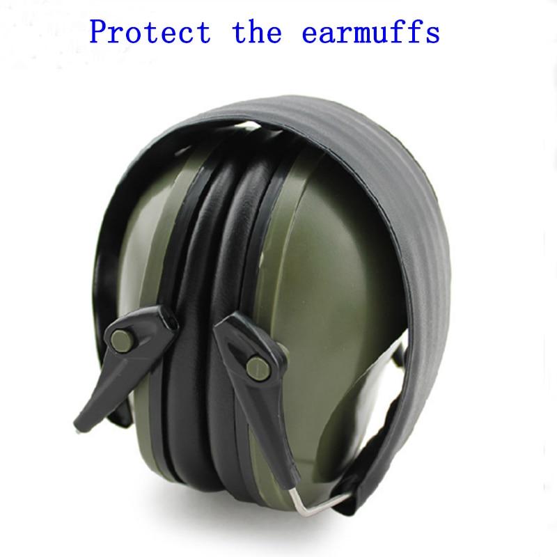 imágenes para Tapones orejeras insonorizadas profesionales plegable protectora protectores para los oídos de ruido Al Aire Libre Táctico Caza Disparos
