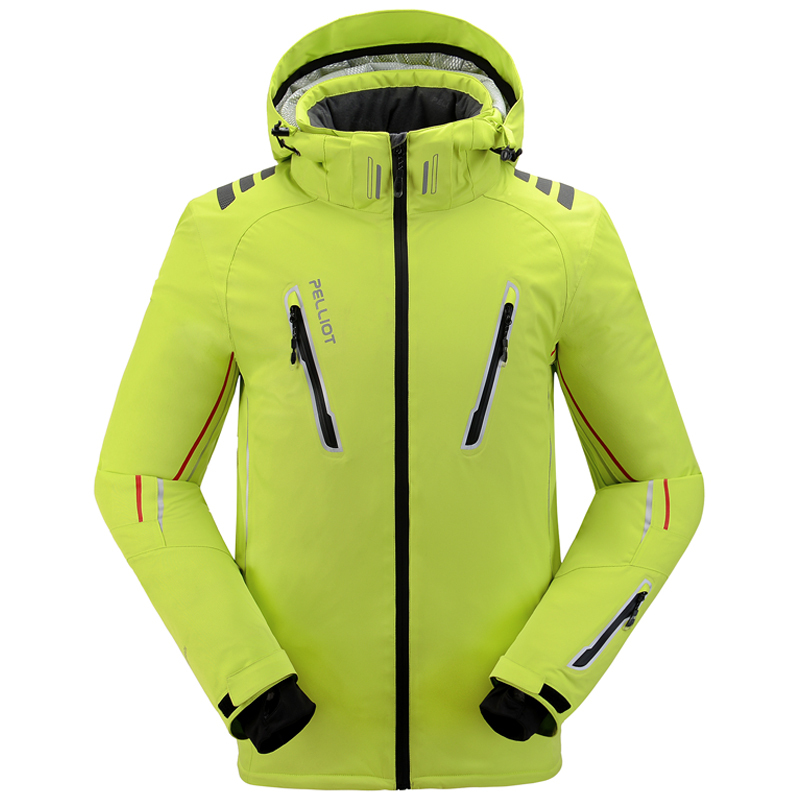 14402814e3b Pelliot Men s Ski Jacket Thermal Warmth Snowboarding Jacket Breathable Plus  Size Sports Jacket For Camping Snowing Free Shipping